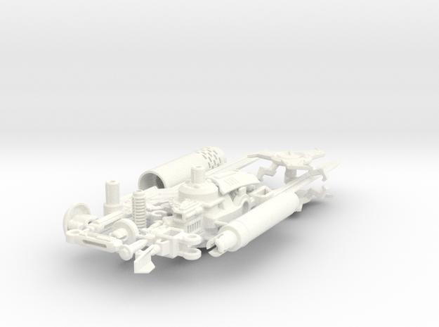 TFP Dreadwing's Big Blaster 3d printed