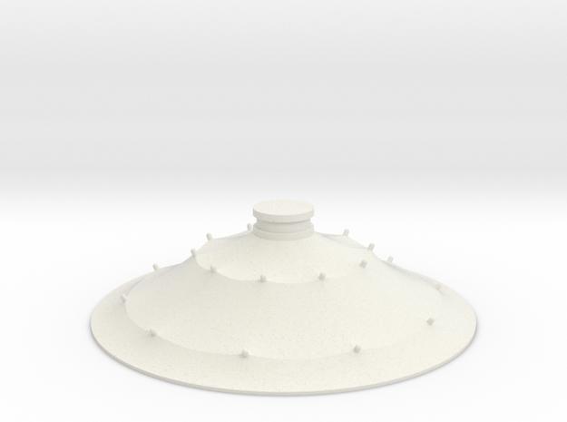 Austausch 7 für Faller Standard-Dach (H0 scale) in White Natural Versatile Plastic
