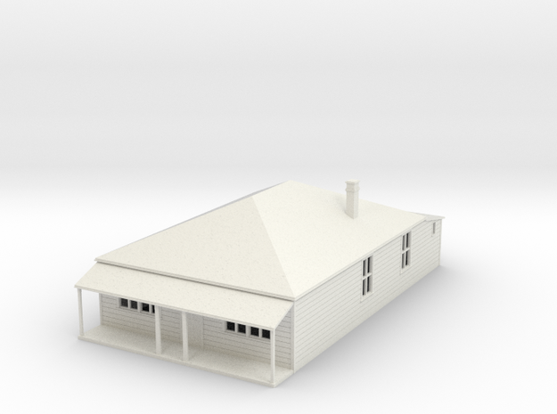 Old style House 1:120 3d printed