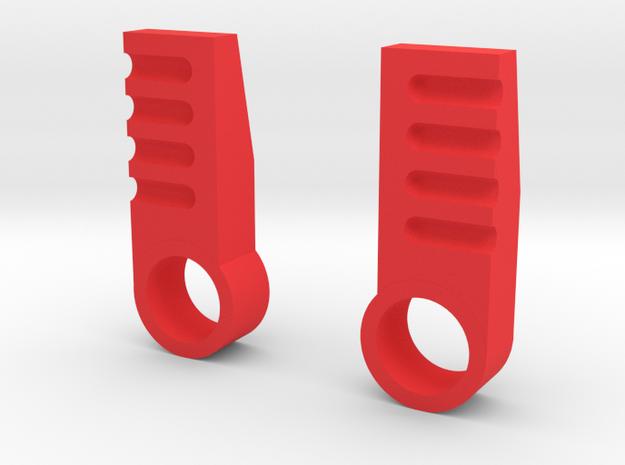 iGear Hench Brawn Stablising Heel Spurs - SFP in Red Processed Versatile Plastic