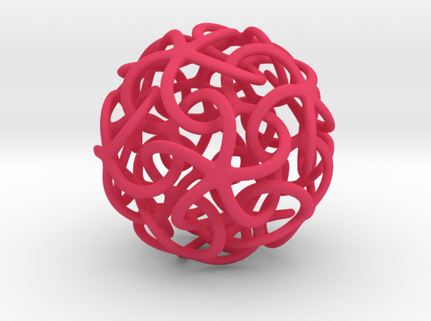 Starfish's Ball 3d printed