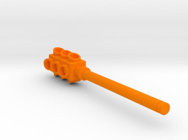 Lights Out - 5mm Traffic Light Club (no Base) in Orange Processed Versatile Plastic