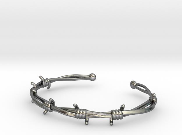 Barb Wire Bracelet 3d printed