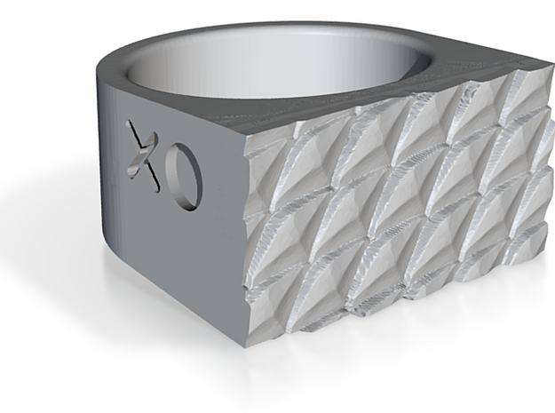 Reptile Ring 3d printed