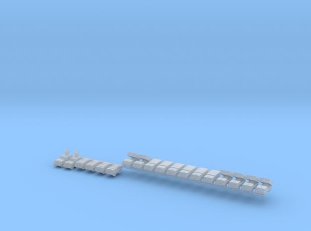 1/700 Astros II MLRS Battery in Smooth Fine Detail Plastic