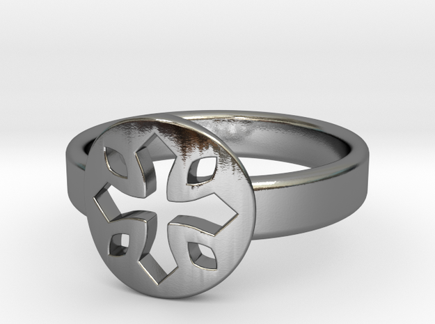 Tayliss Ring Size 6 in Polished Silver