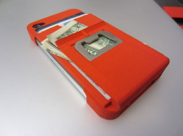 Ultimate Minimalistic Case with bottle opener in White Natural Versatile Plastic