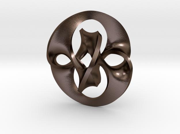 Antichron Pendant for Steel 3d printed