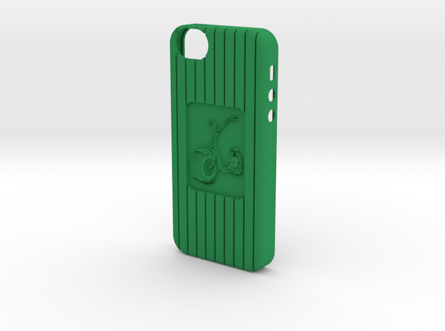 iPhone 5 Scooter case 3d printed