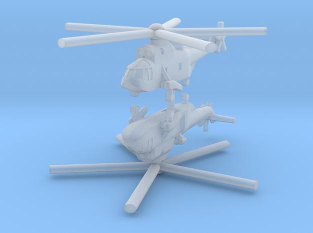 1/700 Sikorsky / Westland Sea King (x2) in Smooth Fine Detail Plastic