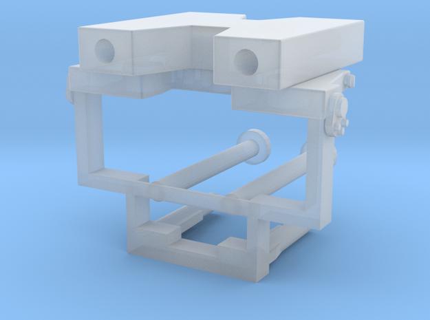 Frontabstützung für LKW-Ladekrane in Smooth Fine Detail Plastic