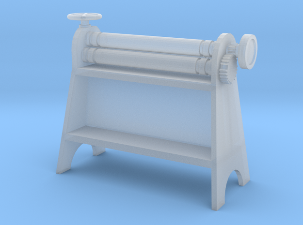 Metal Roller S Scale in Frosted Ultra Detail