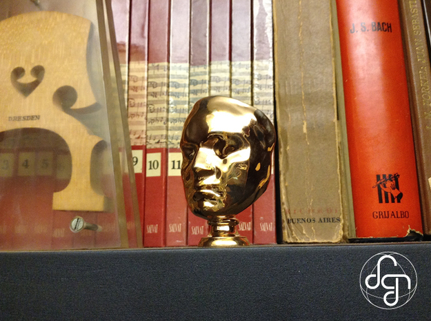 Beethoven's Life Mask [6cm] Hollow