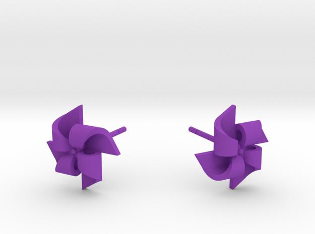 Pinwheel Earrings Small size