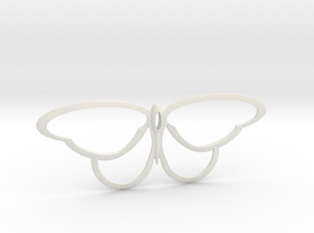 flutterfly in White Natural Versatile Plastic
