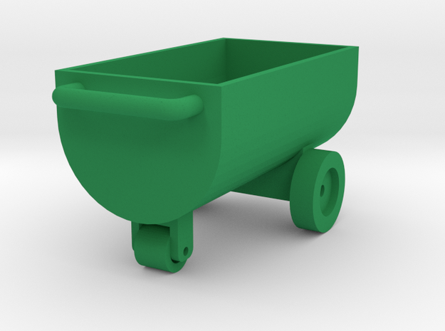 Feed Wagon Farmmodel 1/32 in Green Strong & Flexible Polished