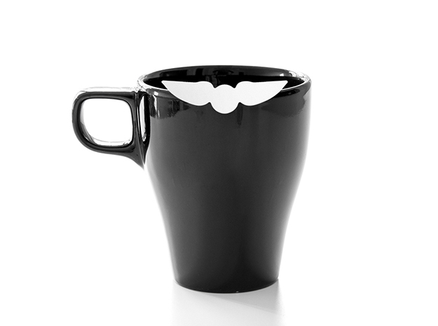 Mug & glass accessories wings 2 in White Natural Versatile Plastic