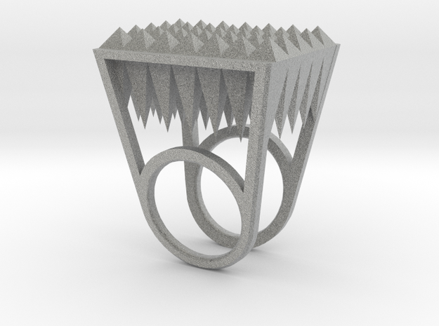 RockStone - ring size 8 3d printed