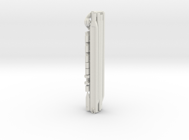Leica / Wild GST - 20 tripod legs 1/4 scale kit in White Strong & Flexible