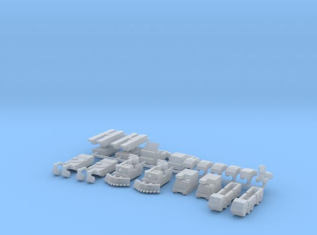1/700 M1 Engineer Tanks
