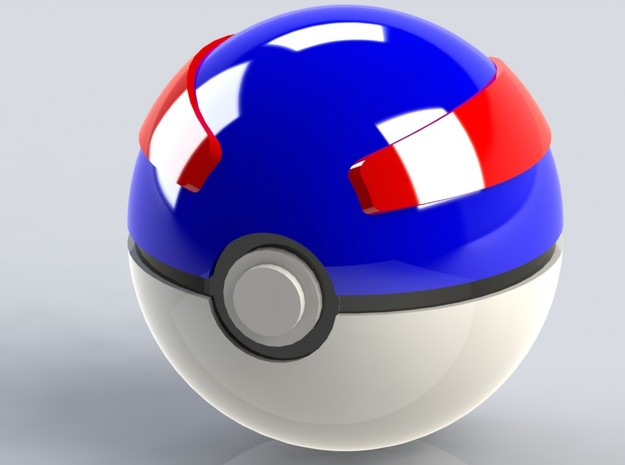 Small Great Ball 3d printed