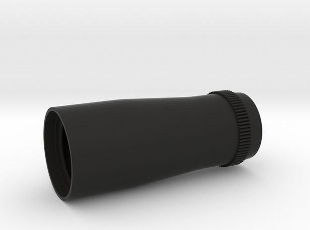 4X20 Scope Rear Lens Housing in Black Strong & Flexible
