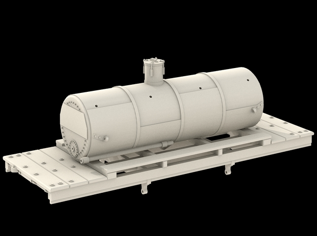 N Scale West Side Tank Car #2