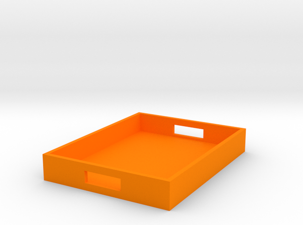 Rectangle Tray Medium 1:12 scale 3d printed