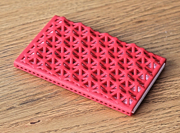 Business card case -Fabrigate 3d printed