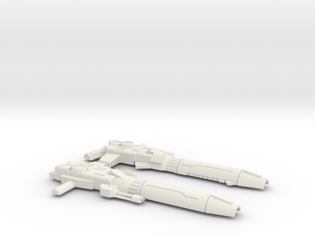Ongoing Prime Blaster in White Natural Versatile Plastic