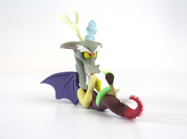 My Little Pony - Discord (≈90mm tall) in Full Color Sandstone