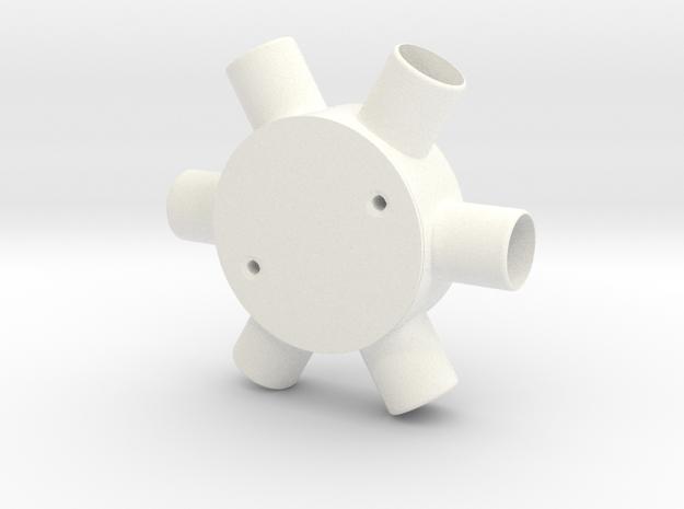 Six Way Junction box 3d printed