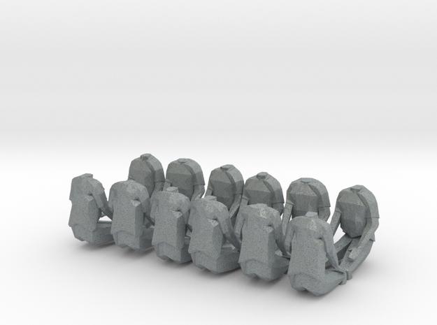 28mm seated halftrack crew 3d printed