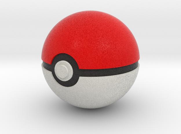 Original Poké Ball 8cm in diameter. in Full Color Sandstone