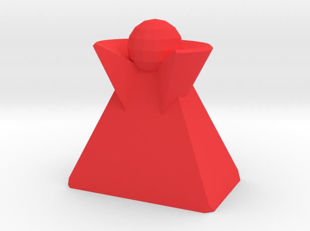 Veeple in Red Processed Versatile Plastic