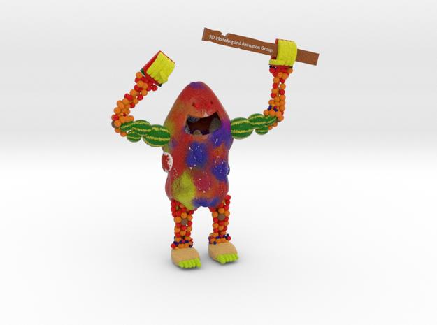 Fruit Monster in Full Color Sandstone