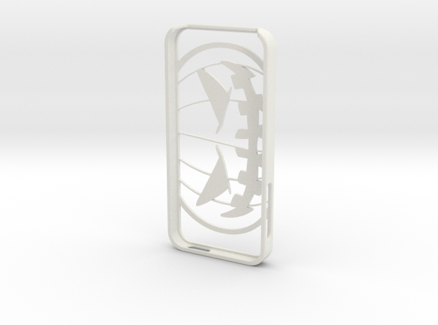 Iphone 5 Case Halloween in White Strong & Flexible