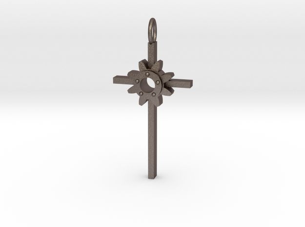 Faith Pendant in Stainless Steel