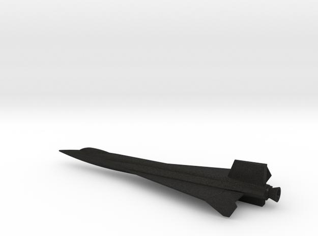1/144 NAA X-15 DELTA WING USAF NASA in Black Acrylic
