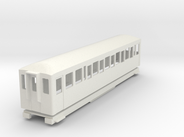 BM4-110 009 FR Coach 119/120 in White Natural Versatile Plastic