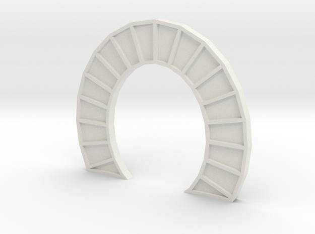 SINGLE Z TUNNEL PORTAL in White Natural Versatile Plastic