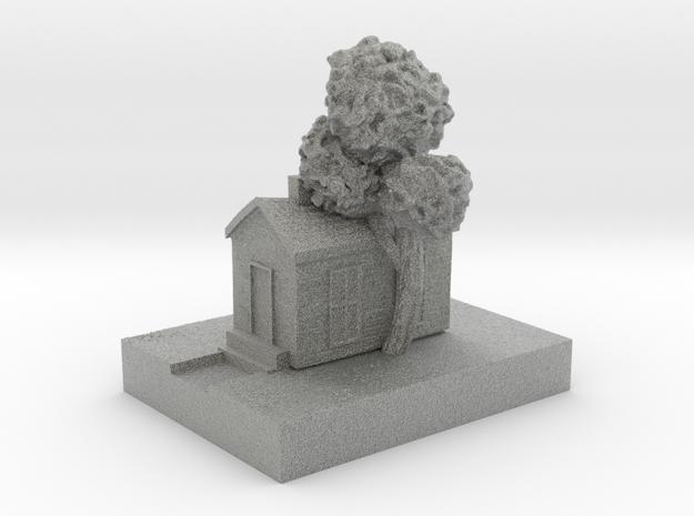Cottage in Metallic Plastic