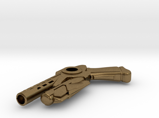 Enders Gun Necklace Center Hole 3d printed