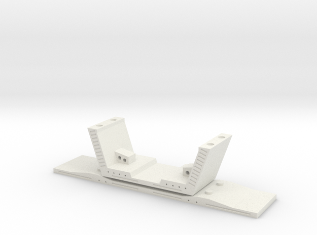 HO/1:87 Precast concrete bridge segment (small/no