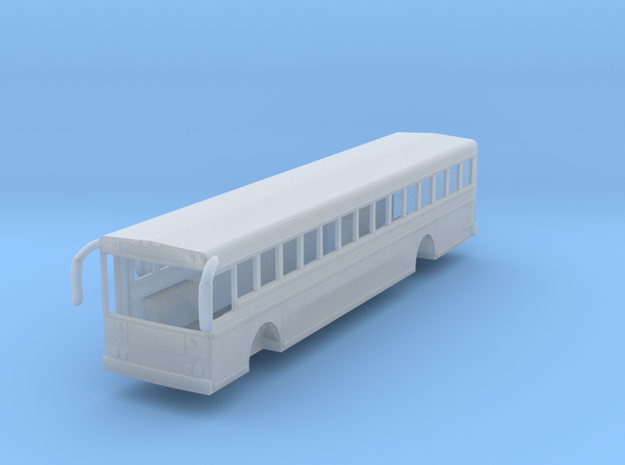 N scale 1:160 Thomas Saf-T-Liner HDX school bus in Smooth Fine Detail Plastic