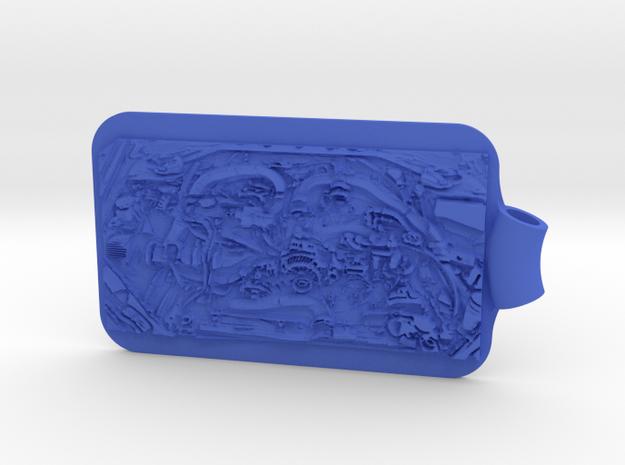 Subaru STI Engine Key Fob 3d printed