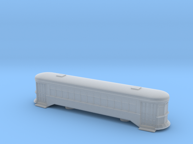 Streetcar - HOscale in Smooth Fine Detail Plastic