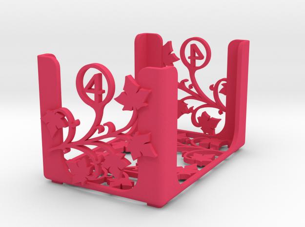 Arcadia Quest - Level 4 in Pink Processed Versatile Plastic