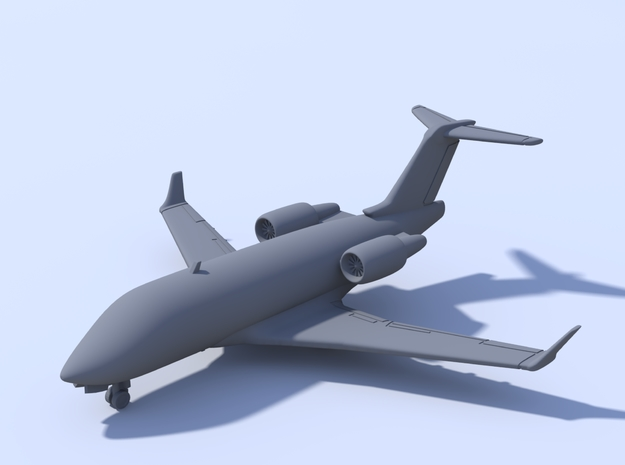 1:500 - Challenger_604 [Assembled] in Frosted Ultra Detail