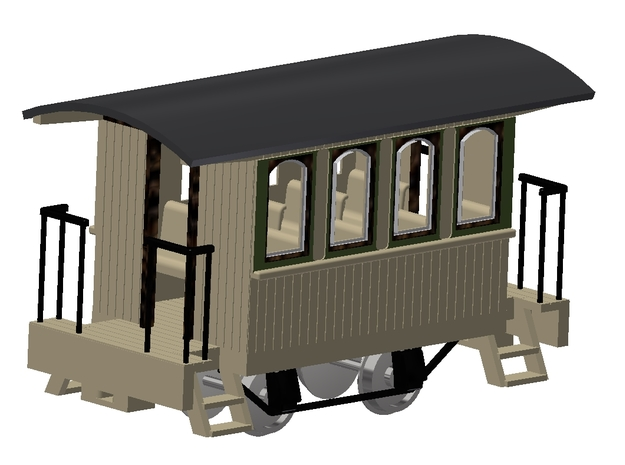 4 wheel Coach O 16.5 in White Natural Versatile Plastic